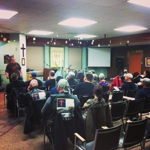 Prison ministry training seminar at Lazarus Outreach Centre in Windsor,Ontario