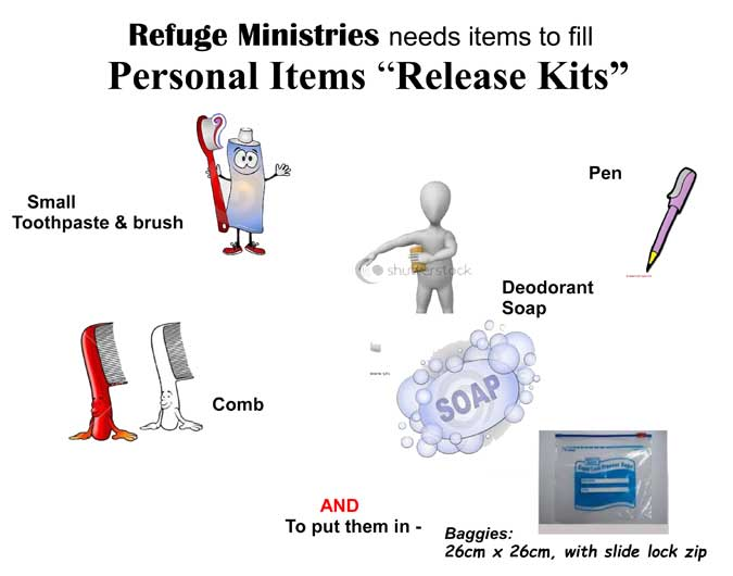Release Kit Items