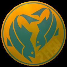 2FishLogo-OrangeGreen